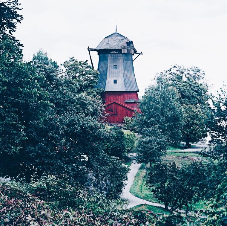 Windmühle ind Schweden