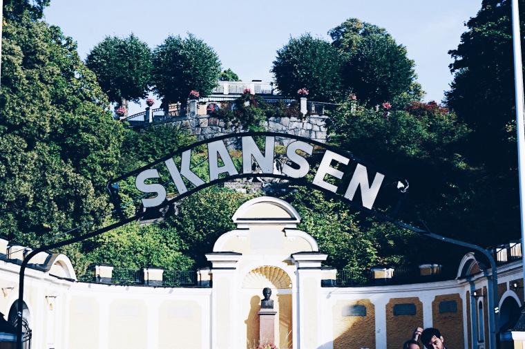 Skansen, Freilandmuseum in Stockholm Schweden