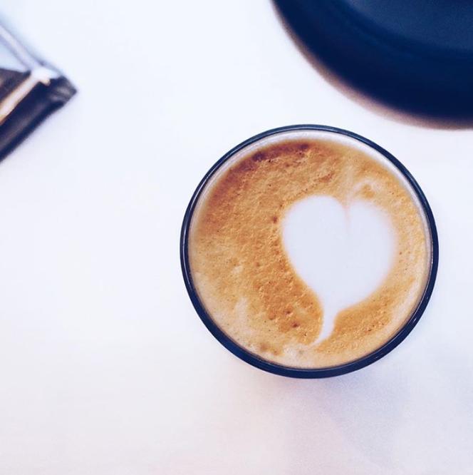 perfekter Kaffee mit Herz, bester Kaffee in Stockholm