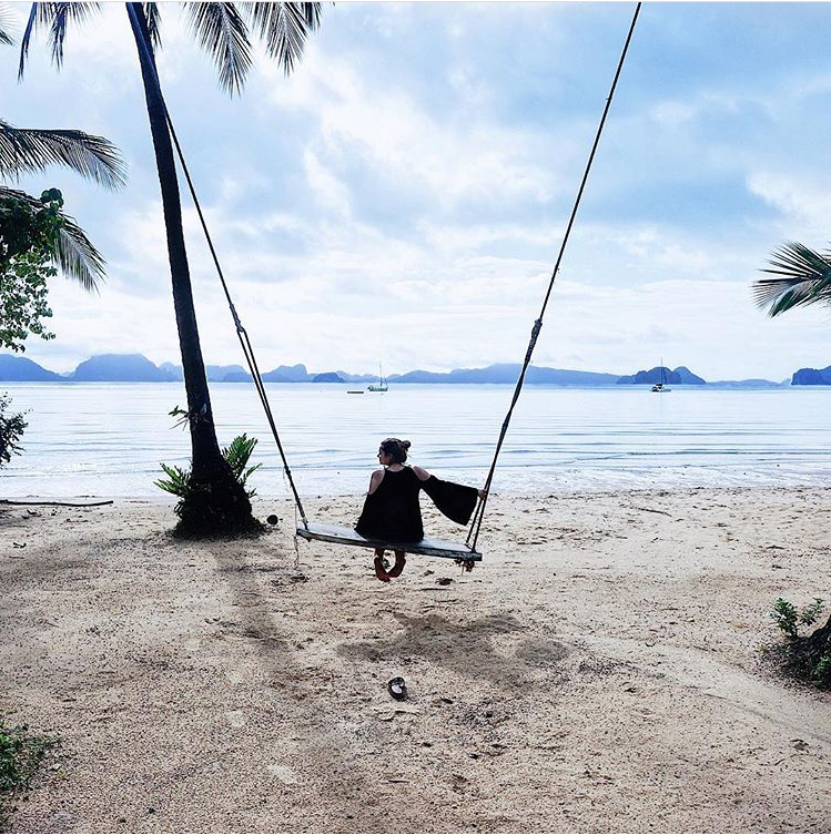 Thailand, Meer, Schaukel am Strand, Schaukel am Meer, Kleid Schaukel, Thailand Insel, Reiseziele Asien