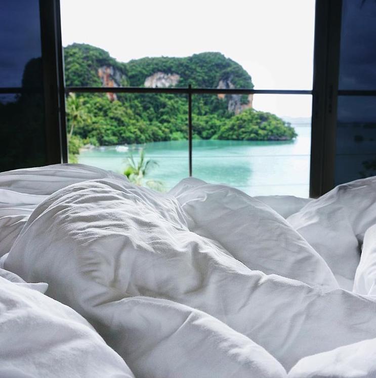 Traumhotel in Koh Yao Noi Thailand, Blick aufs Meer