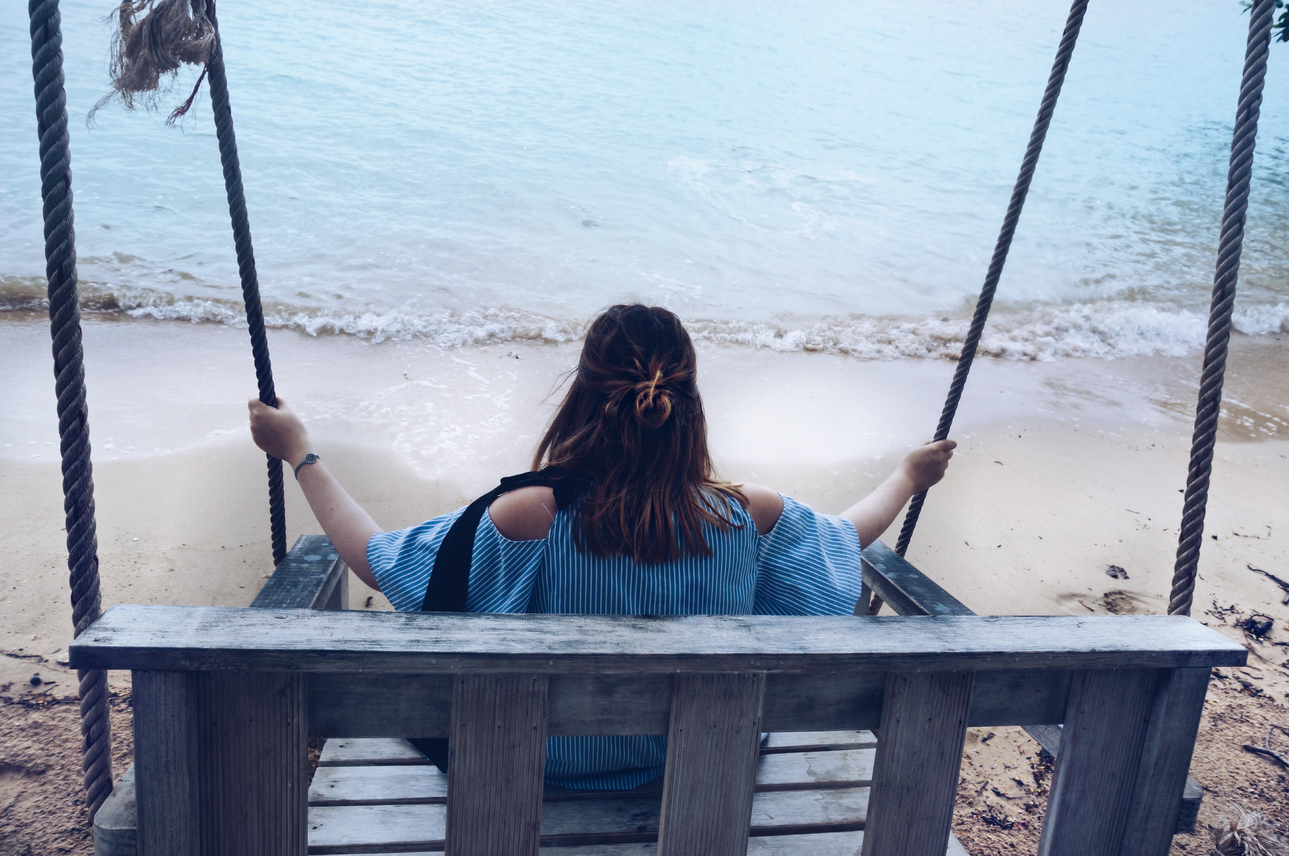 Schaukel am Meer, Thailand besonderes Hotel