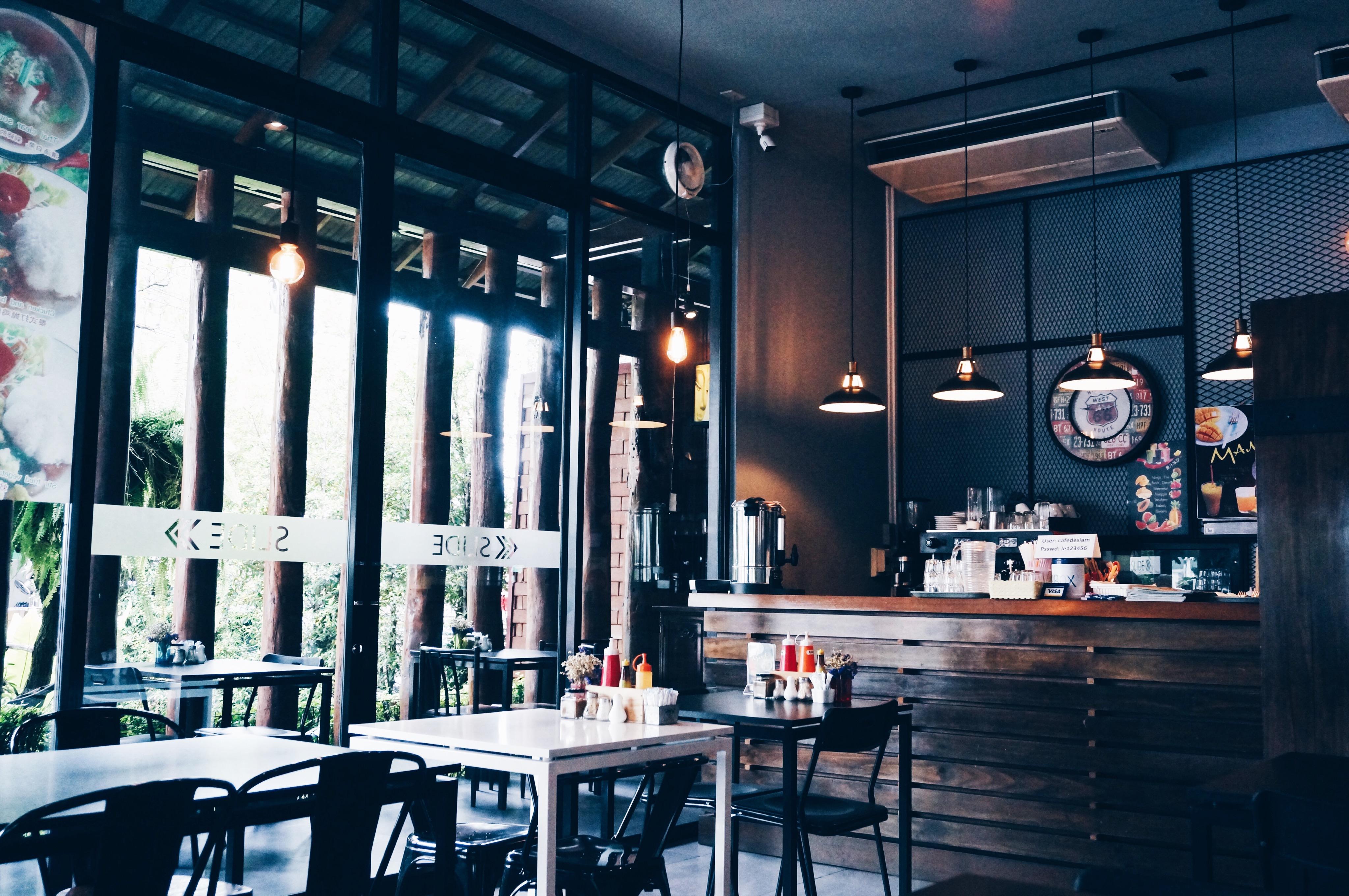 modernes Restaurant in Thailand