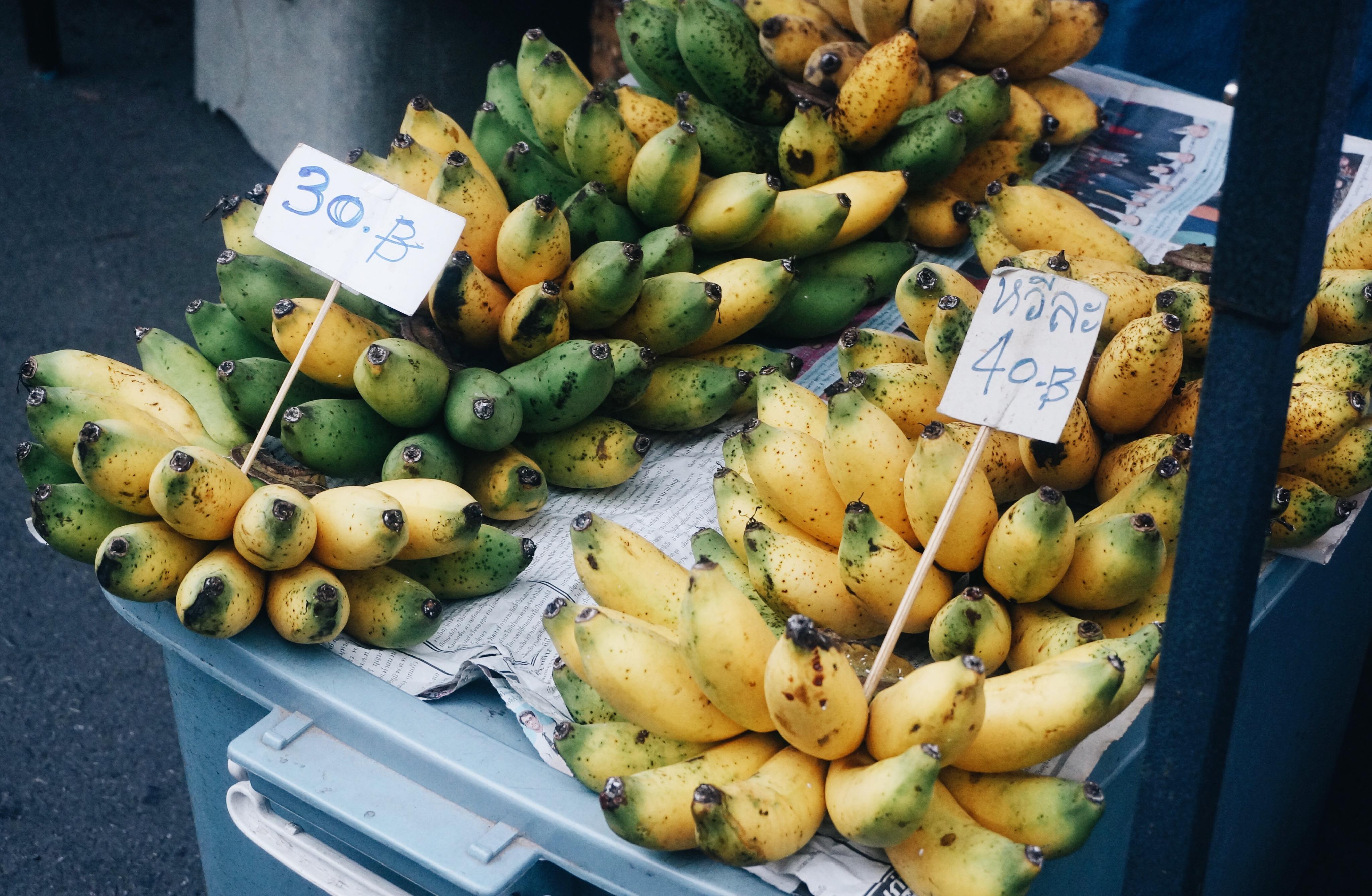 frische Bananen in Thailand