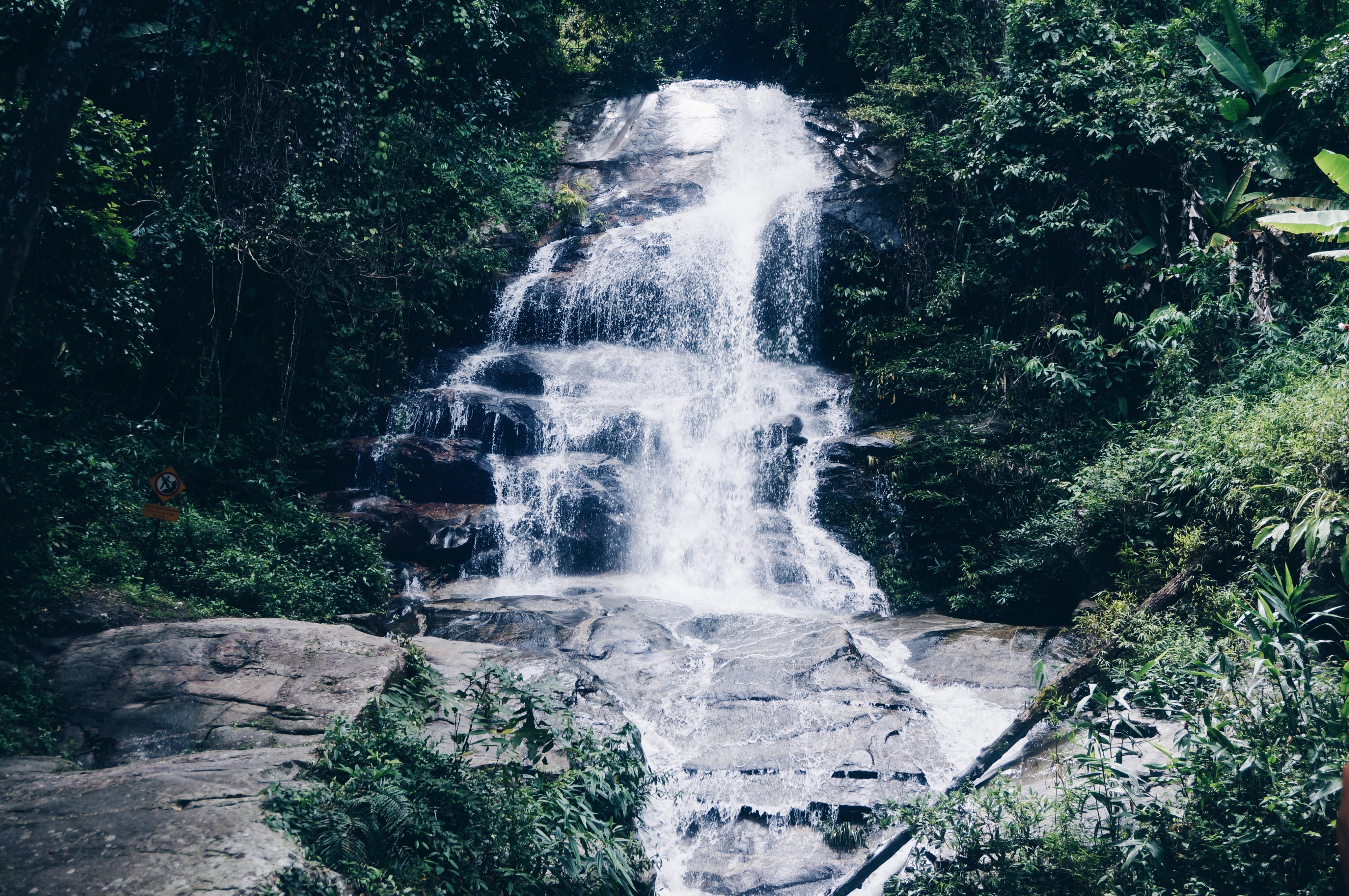 Chiang Mai Wasserfälle, waterfall