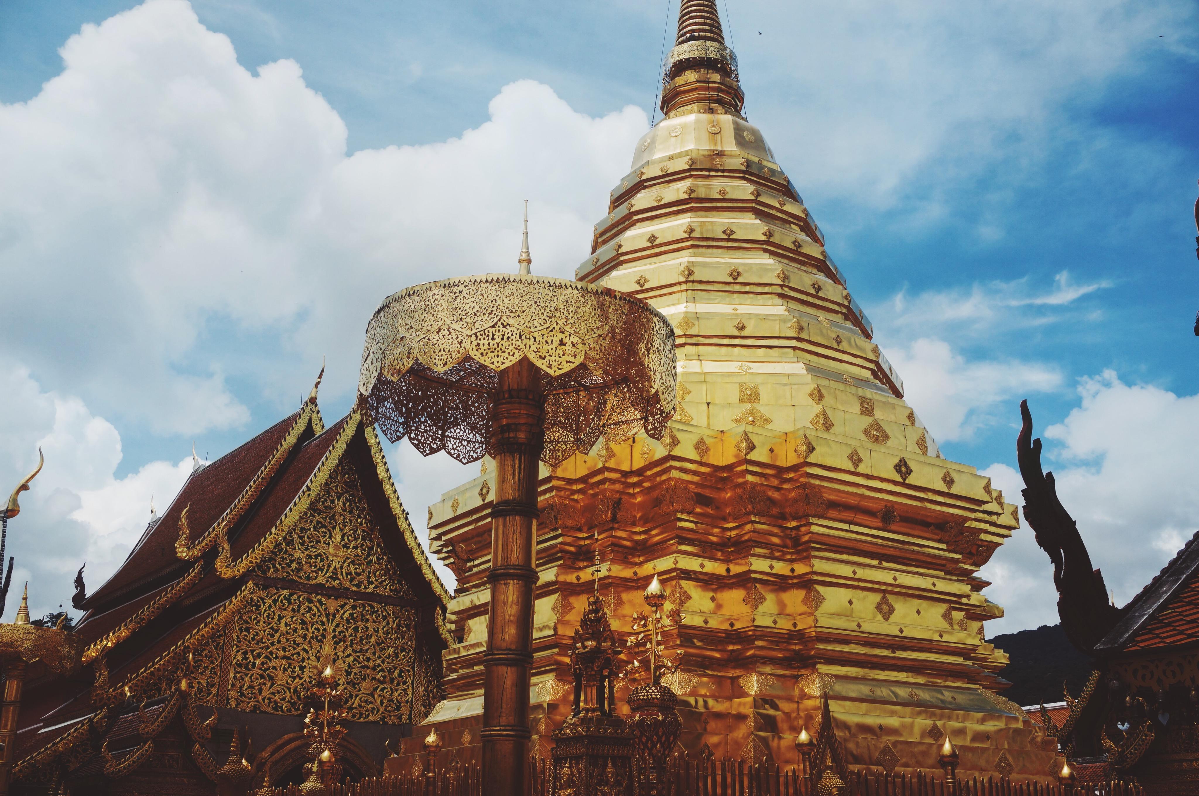 Doi Suthep Tempel in Thailand, Chiang Mai