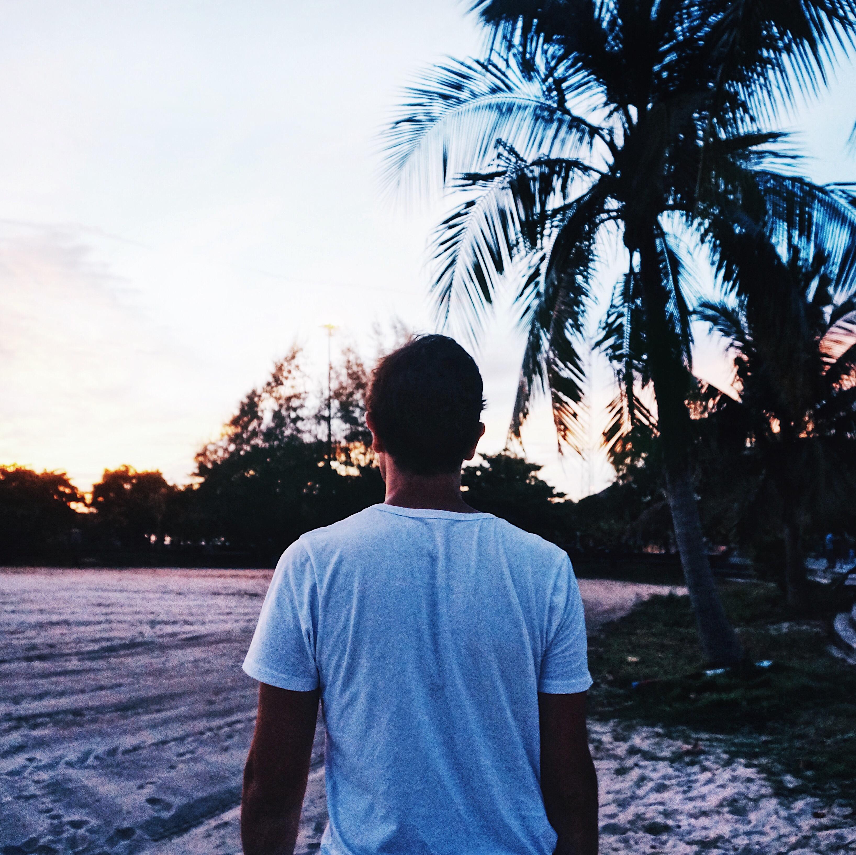 Sonnenuntergang in Thailand, Koh Phangan