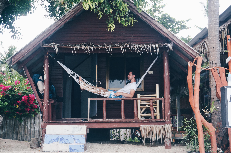 Haus Hütte am Meer in Thailand, Koh Phangan