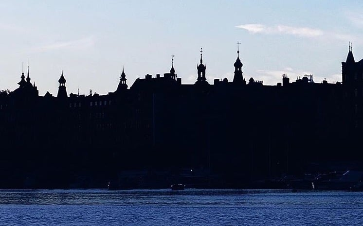 Stockholm, Sunset in the City, Sonnenuntergang in der Stadt, Aussicht Schweden, Sunset, Sonnenuntergang, Djurgården, Natur in Stockholm, Insel in Stockholm, Sweden