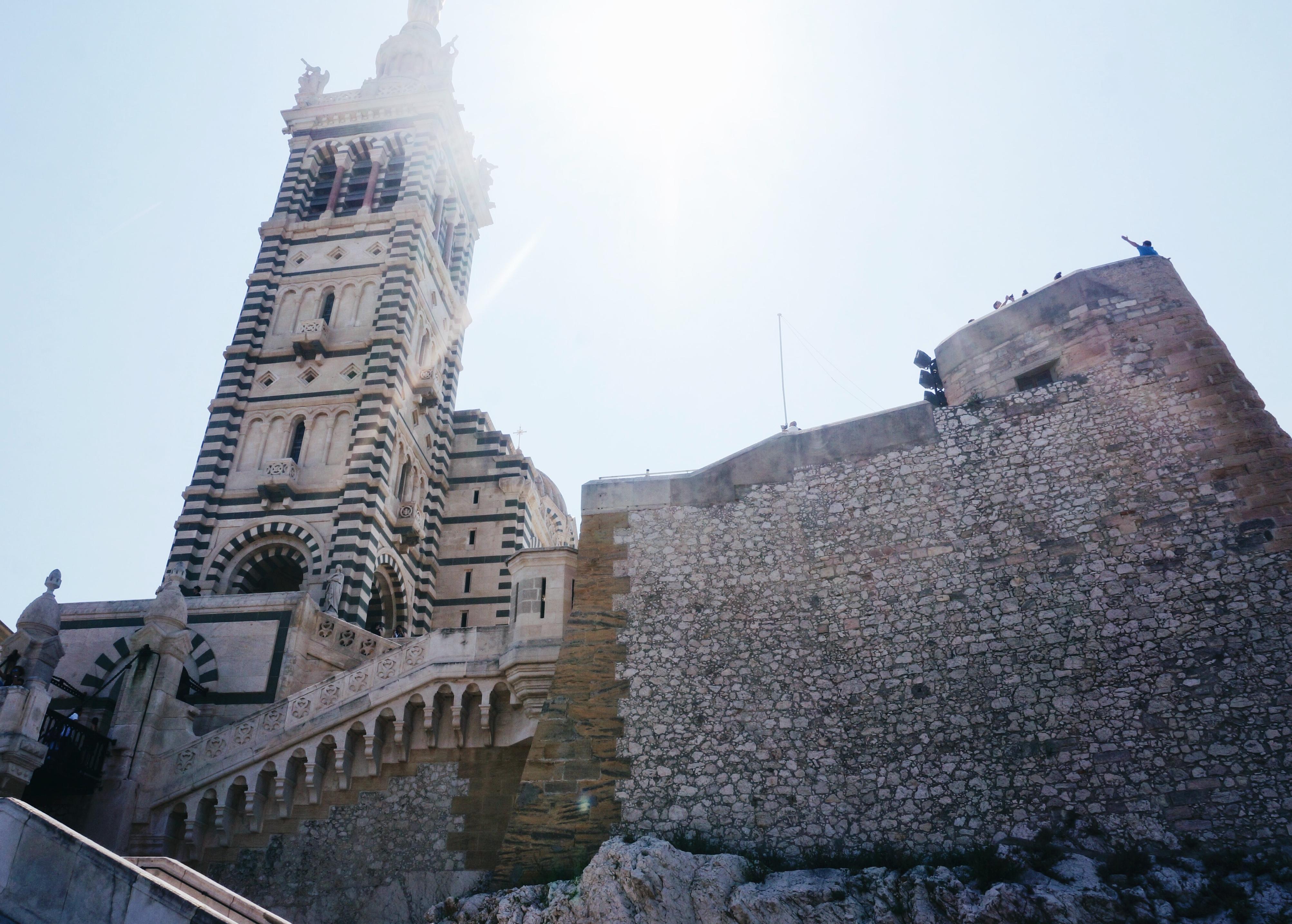 Notre-Dame de la Garde, Hafen, old harbour marseille, Reisen, Sehenswürdigkeiten, Frankreich, Kurztrip, Ausflug, Reisen, view, Aussicht, Aussichtsplattform in Marseille