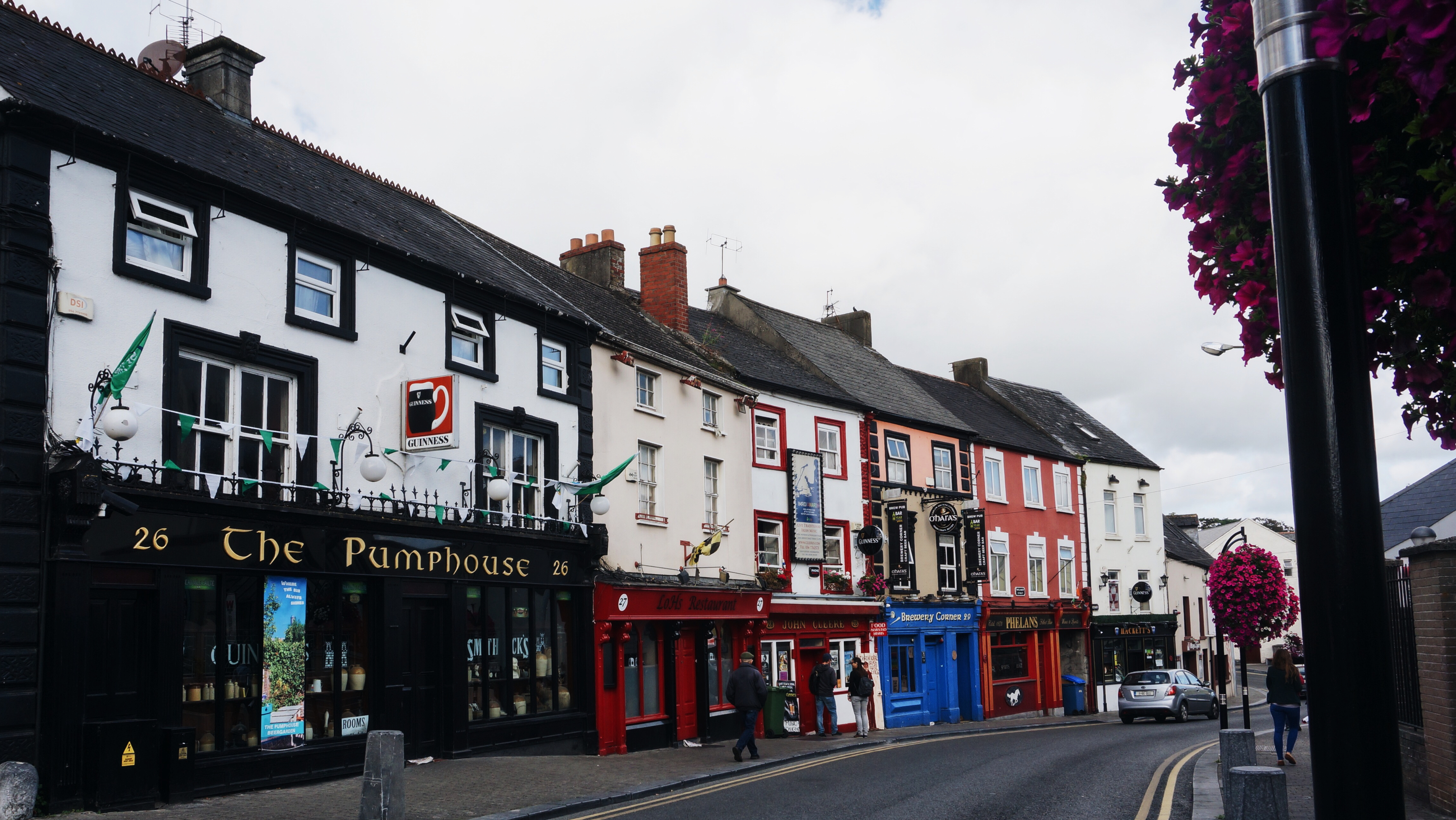 Irland, Kilkenny, Kilkenny, Highlights Sightseeing, Castle, Stadt, Lädt, Shops, Sehenswürdigkeiten Irland