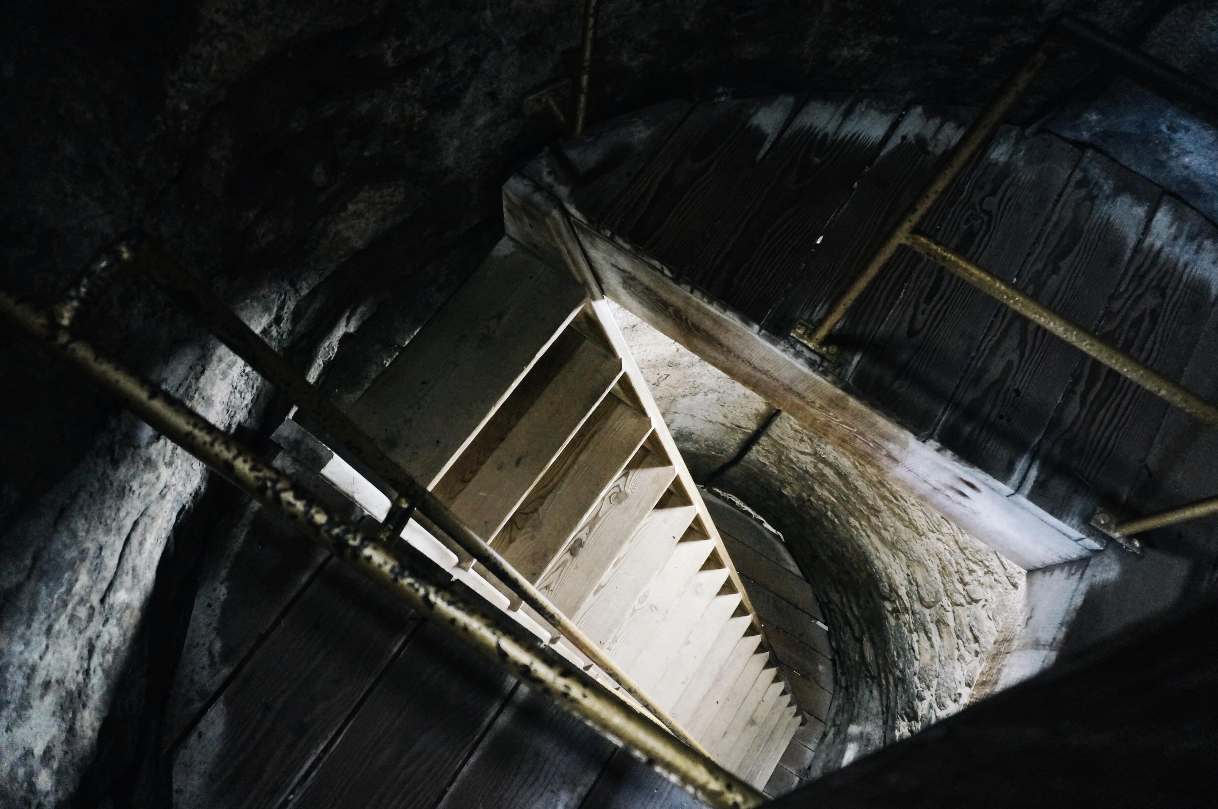 Treppe, Aufstieg