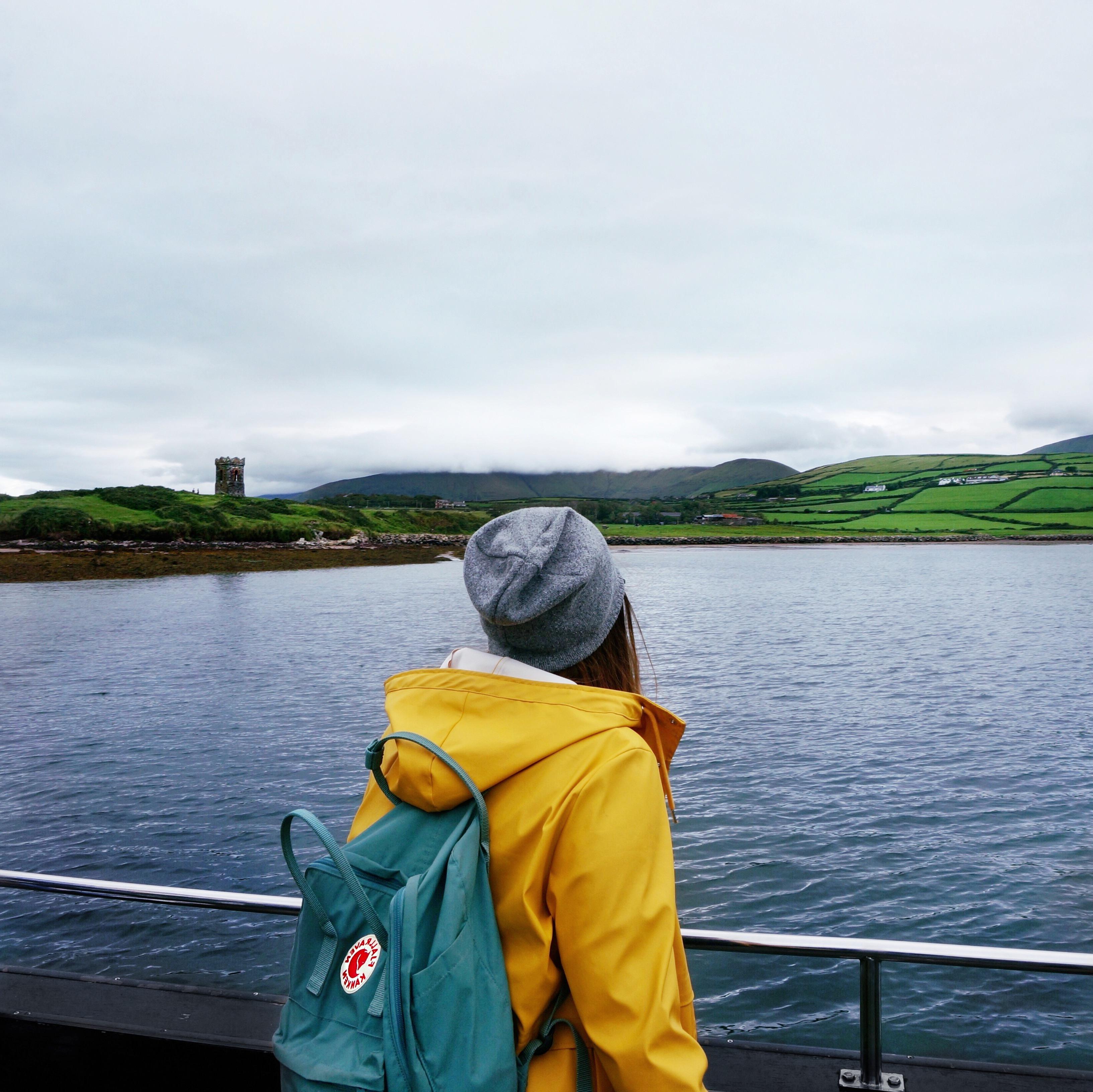 Irland, Dingle City, Stadt, Häuser, Fassaden, Küstenstadt Irland Sehenswürdigkeiten