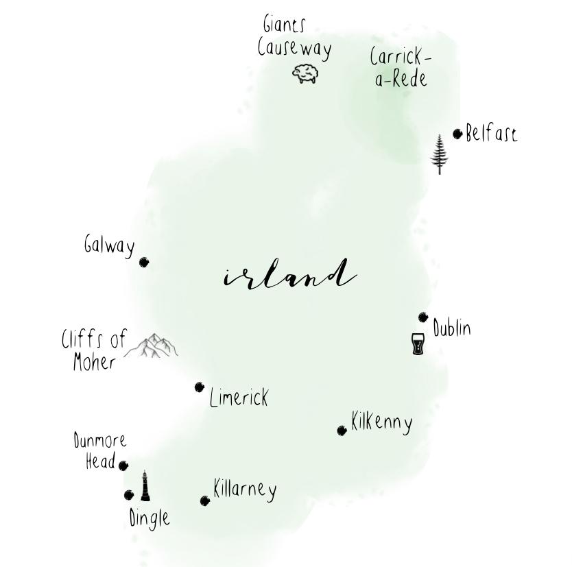 Irland Rundreise, Roadtrip Ireland, Sehenswürdigkeiten Irland