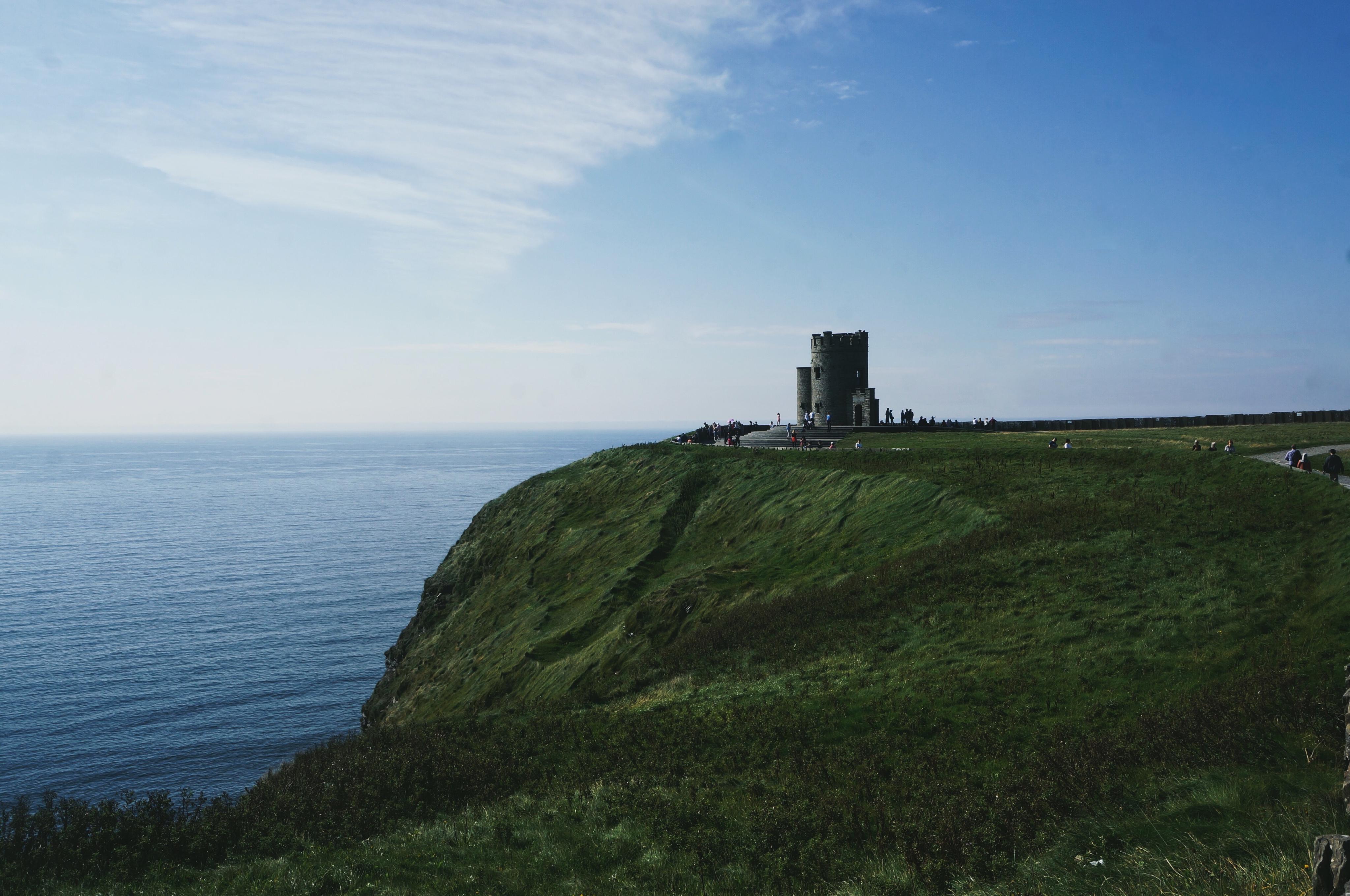 Cliffs of Moher, Irland, Klippern Rundreise Camping Städtetrip Europa Reisen, Castle Schlösser