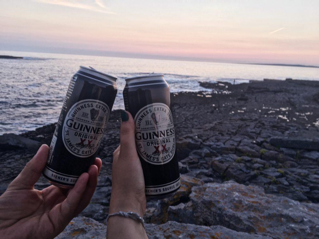 Guiness Beer, Bier, Irland, Klippen Rundreise