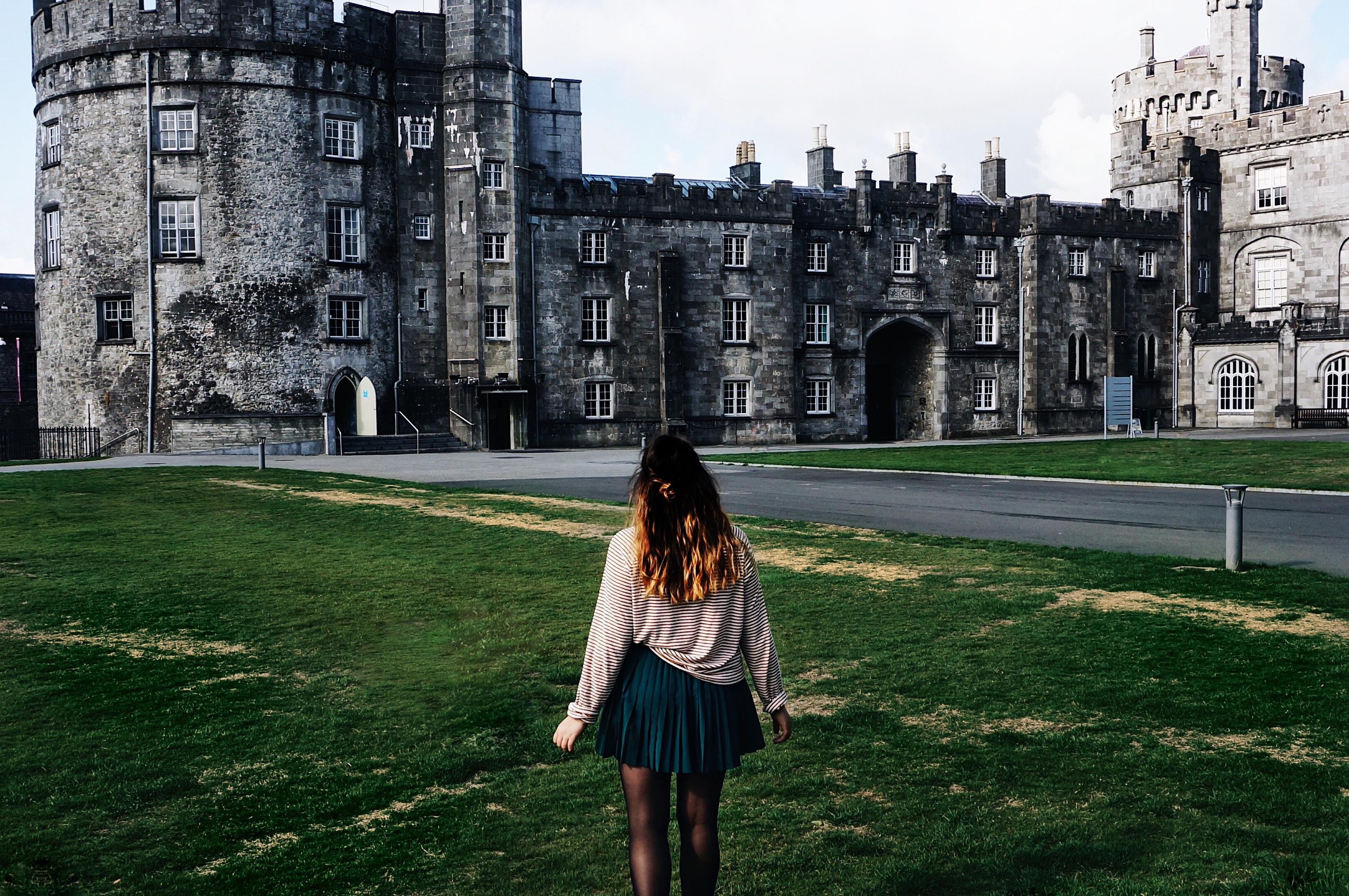 Irland Kilkenny Castle schloss urlaub Rundreise Städtetrip