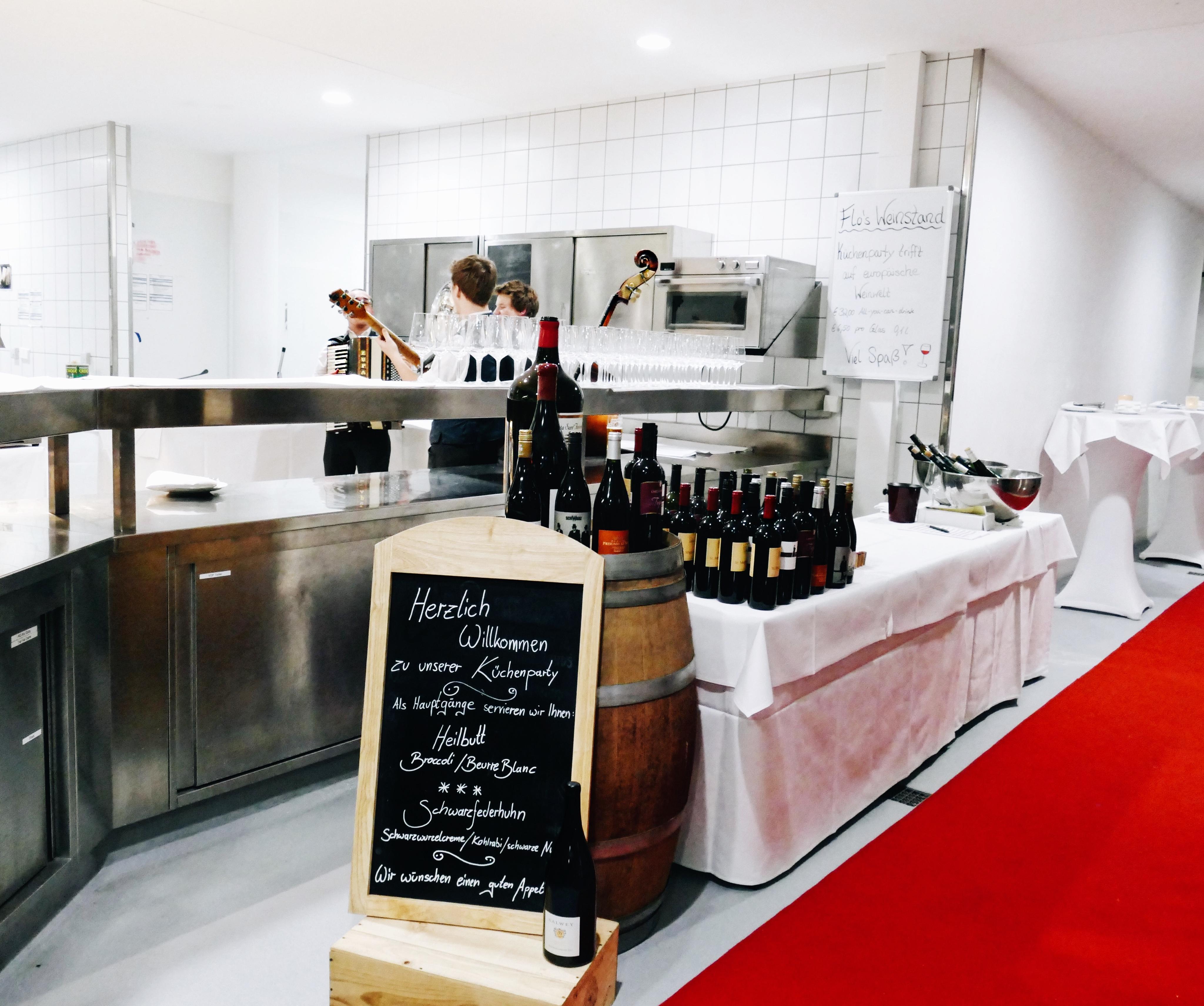 Küche Hotel hinter den Kulissen Küchenparty