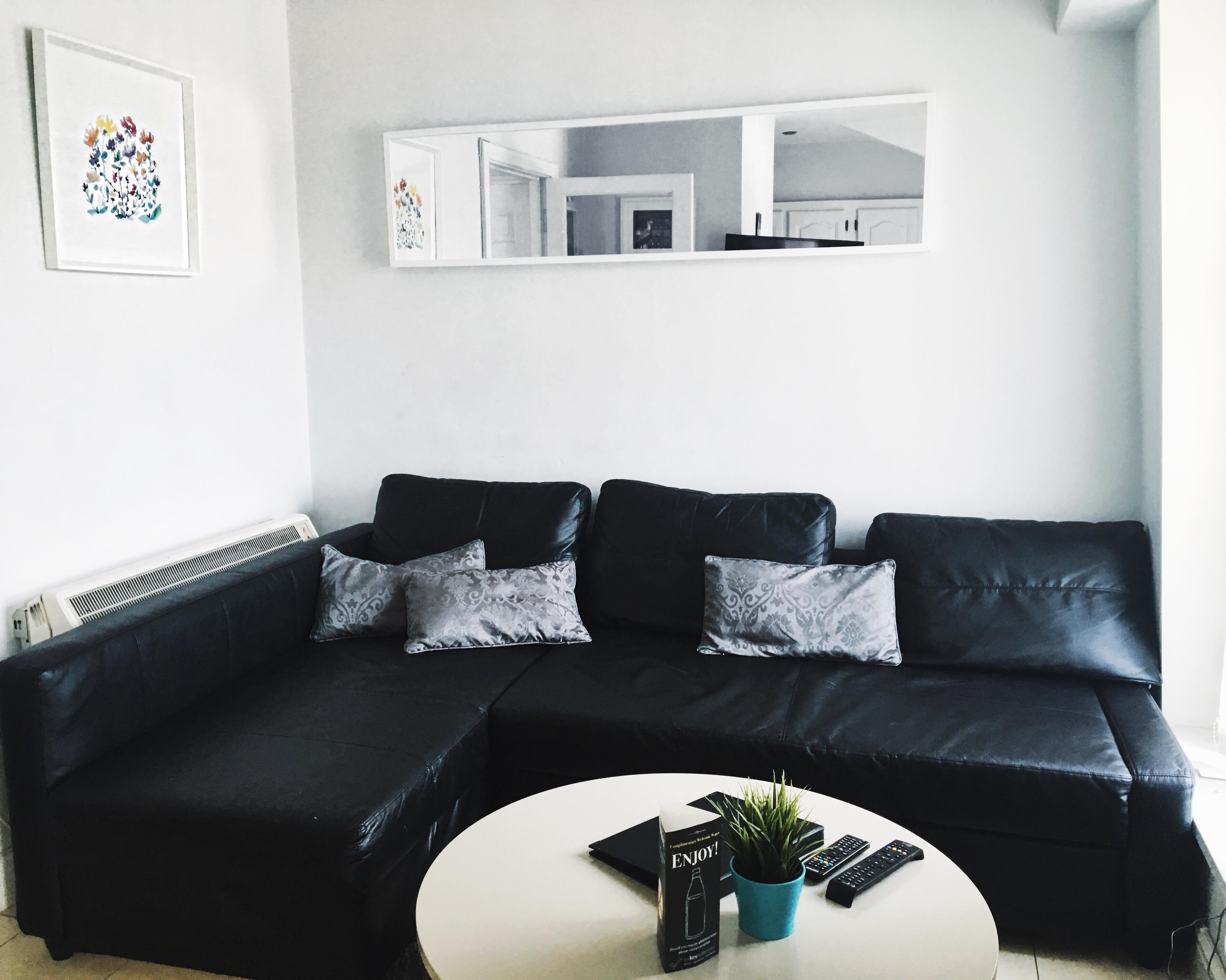 Wohnung Sofa Ferienwohnung Dublin Irland Übernachten