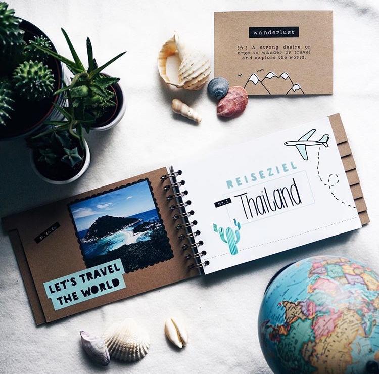 Fotoalbum, Fotos, Geschenkidee, Reisetagebuch, Ideen, Geschenke