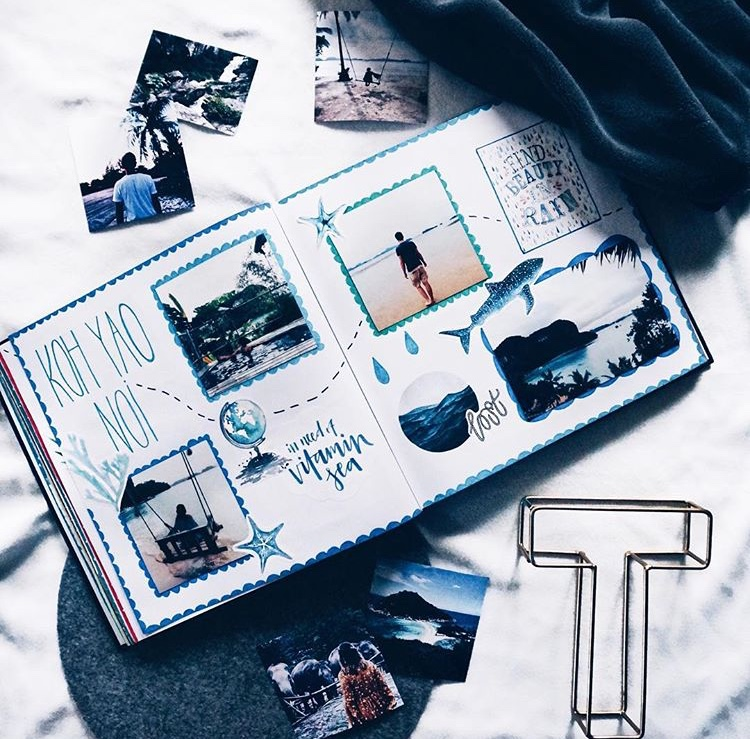 Fotoalbum, Fotos, Geschenkidee, Reisetagebuch, Ideen, Geschenke, Muttertag