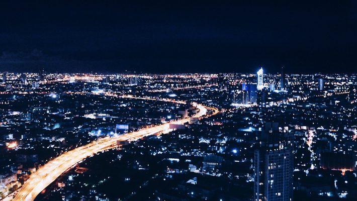 Bangkok Skyline, Stadt, Rooftopbar