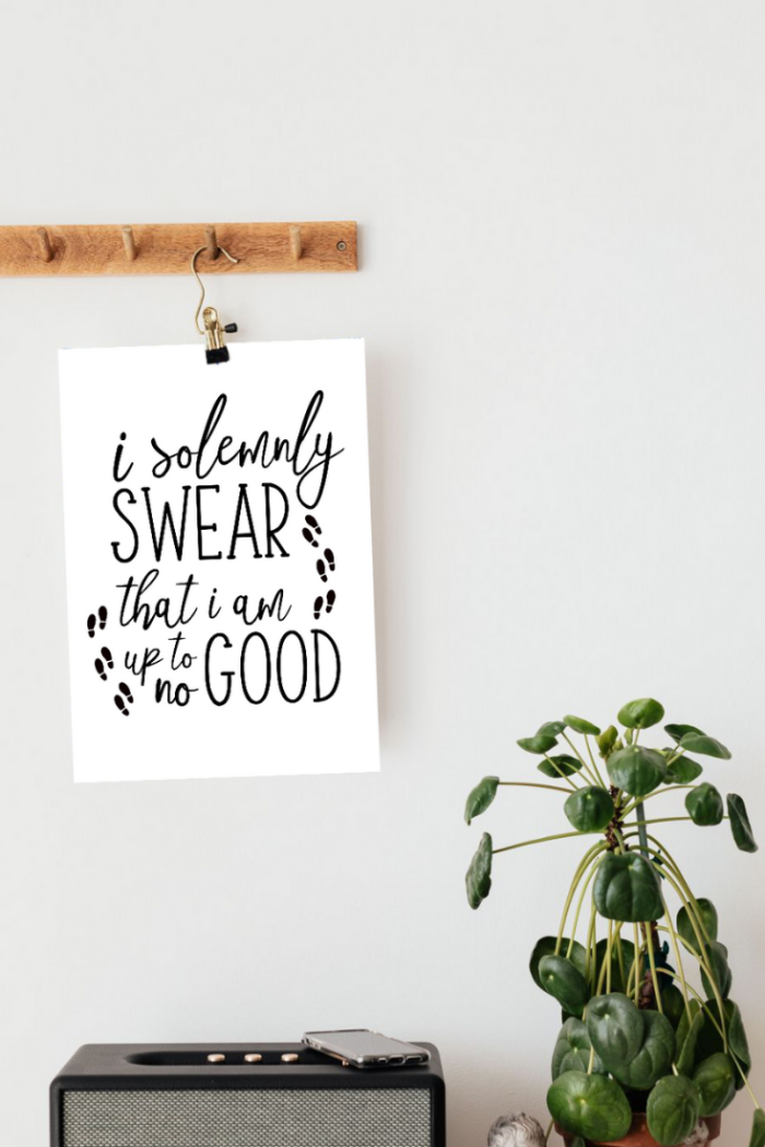 Pretty Harry Potter prints – free printable – download for free